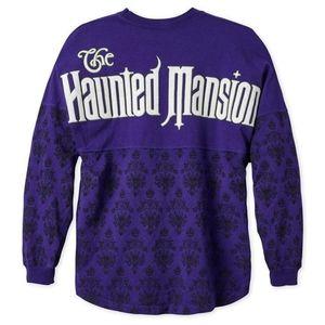 Haunted Mansion Spirit Jersey Purple Ghost Host